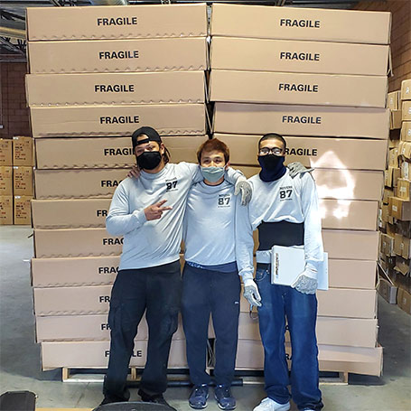Reliable shipping for fragile and valuable items across Nevada and the Las Vegas valley.